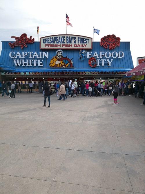 DC Wharf's Fish Market